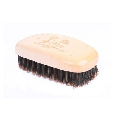 Military Style Square Shape Brush W/100% Pure Soft Bristle-Atomic 79