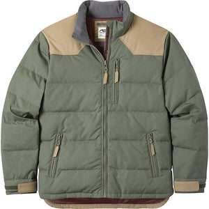 Mountain Khaki Men's Double Down Jacket Color Field Green-Atomic 79
