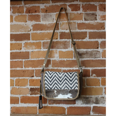 Multi Fabric Artistic Shoulder Bag-Atomic 79