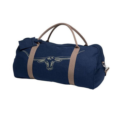 Nanga Cotton Canvas Bag W/Detachable Strap in Navy Silt-Atomic 79