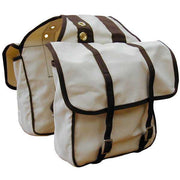 Natural Canvas Saddlebags-Atomic 79