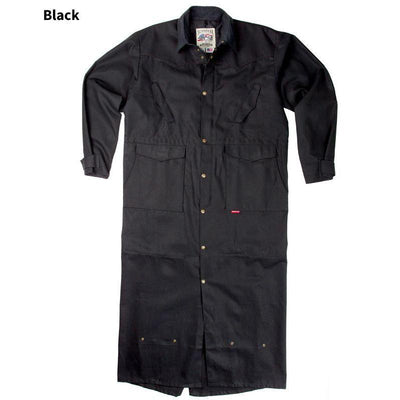 Original Canvas Duster in Black-Atomic 79