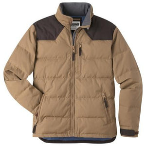 Outlaw Down Jacket in Tobacco-Atomic 79