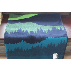 Pendleton Napped Jacquard Robe W/Northern Lights Design-Atomic 79