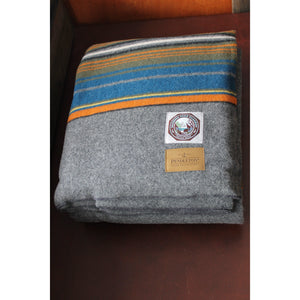 Pendleton National Park Blanket In Olympic Grey-Atomic 79
