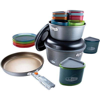Pinnacle Camper Cook Set in Non Stick Aluminum-Atomic 79