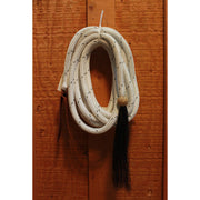 Poly Mecate W/Rawhide Ball And Horse Hair Tassle-Atomic 79