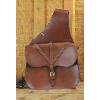 Premium Leather Smooth Saddlebags-Atomic 79