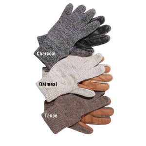 Ragg Wool Ranch Hand Glove W/Fingers in Taupe-Atomic 79