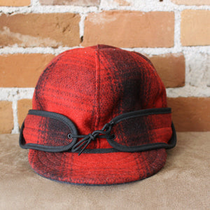 Rancher Cap In Red And Black-Atomic 79
