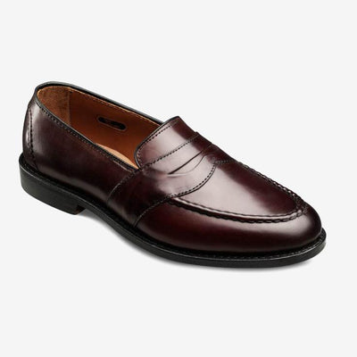 Randolph Slip On Loafer In Burgundy-Atomic 79