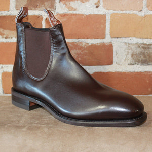 R.M. Williams Comfort Craftsman Dress Boot in Chestnut- Comfort Rubber Sole-Atomic 79