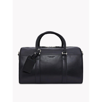 RM Williams Leather Overnight Bag in Black-Atomic 79