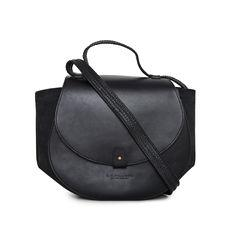 RMW Leather Saddle Bag in Black-Atomic 79