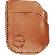 Slim Leather Front Pocket Cash & Card Case in Tan-Atomic 79