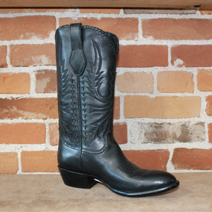 Stallion Men's Western Boot W/Lacing On Top And Buckstitching On Side-Atomic 79