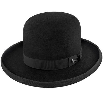 Stetson Bat Masterson Hat in Black Fur Felt-Atomic 79