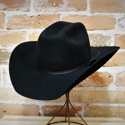 Stetson Rodeo Jr Hat in Black-Atomic 79