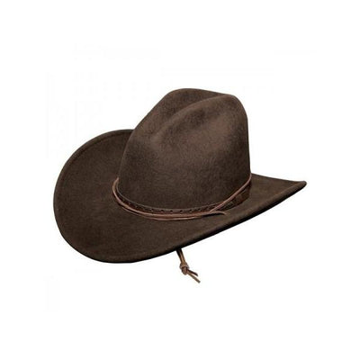 Stetson Soft Wool Felt Cross Creek Hat in Mink-Atomic 79