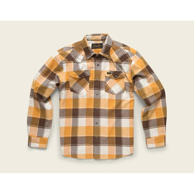 Stockman Stretch Flannel W/Brazos Plaid in Dirttrack-Atomic 79