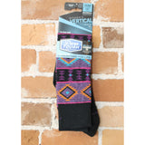 Taos Light Sock In Black-Atomic 79