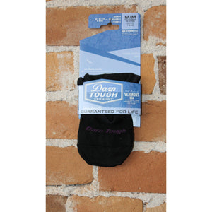 Top Down Solid No Show Light Sock In Black-Atomic 79