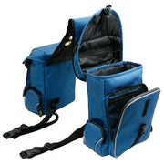 Trailmax 500 Series Deluxe 5 Piece Saddlebag System in Glacier Blue-Atomic 79