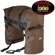Trailmax Jr Rear Saddlebags in Brown-Atomic 79