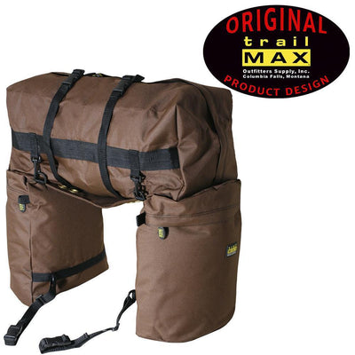Trailmax Original Saddlebag in Brown-Atomic 79