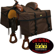 Trailmax Saddle Panniers in Brown-Atomic 79