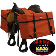 Trailmax Saddle Panniers in Orange-Atomic 79