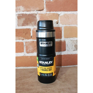 Trigger Action Travel Mug In Matte Black-Atomic 79