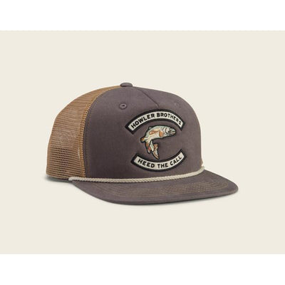 Trout Snapback Cap in Charcoal-Atomic 79