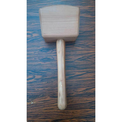 Two Cherries Carpenter's Mallet W/Hornbeam Head and Ash Handle-Atomic 79