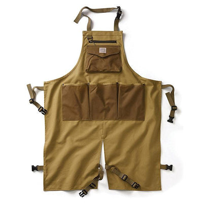 Utility Work Apron in Dark Tan-Atomic 79