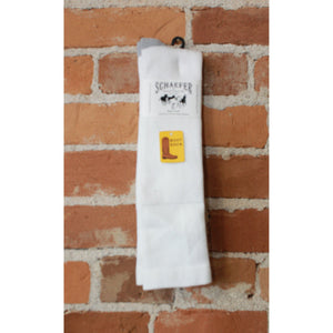 Valley Wellington Boot Sock In White-Atomic 79