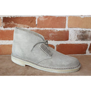 Wallabee Lace-Up Desert Boot W/Signature Crepe Sole In Taupe Suede-Atomic 79