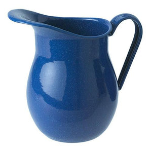 Water Pitcher in Blue Enamelware-Atomic 79