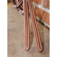 Weaver Horizons Leather Split Reins-Atomic 79