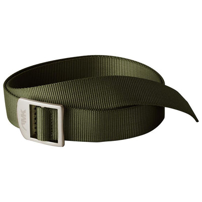 Webbing Belt in Dark Olive W/Buckle That Doubles as a Bottle Opener-Atomic 79