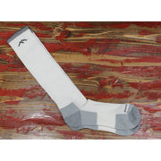Westerner Over The Calf Sock W/Light Cushion In White-Atomic 79