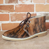 Women's Desert Boot in Brindle Hair-On Cowhide-Atomic 79