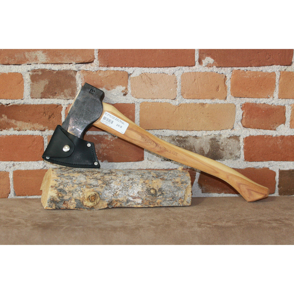 "Wood-Craft Pack Axe W/19"" Curved Handle & Mask-Atomic 79"
