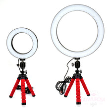 Ring Light Professional com Tripé - Anel de Luz