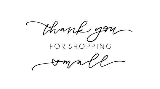 abrau jewelry thank you for shopping small blog post