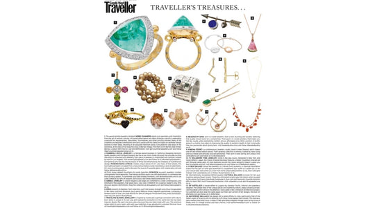 Abrau Jewelry is Featured in Conde Nast Traveller Magazine
