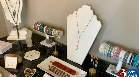 Abrau Jewelry on WCAX: Made In Vermont