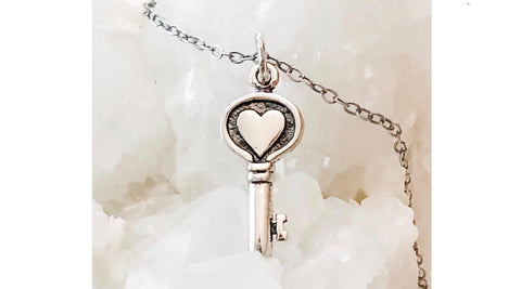 Abrau Jewelry Self-Love Reminder Necklace in Sterling Silver