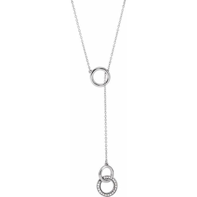 white gold diamond lariat necklace