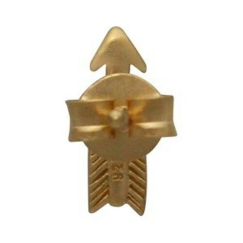 Boho Arrow Stud Post Earrings - 24K Gold Vermeil or Sterling Silver .925